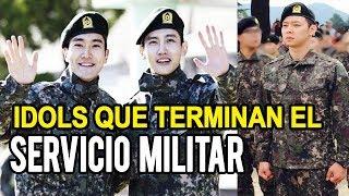 Idols de KPOP que terminan el Servicio Militar // Shiro No Yume