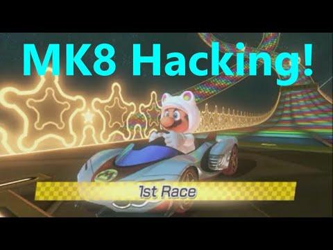 Hacking Mario Kart 8 - Custom Textures and Music! (720p 60FPS)