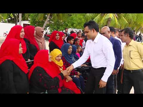 Vice President Visits Dhidhdhoo Island Of H A Atoll