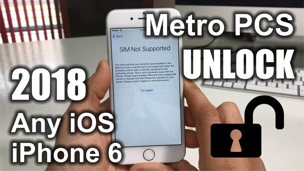 How To Unlock iPhone 6 From Metro PCS to Any Carrier