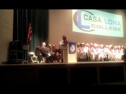 Ron's Valedictorian Speech (Casa Loma College Class of 2011)
