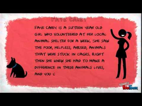 Teen Activism/Faye Carey/Animal Over-Population - Future of ...