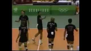 Volleyball History 1988 Olympic Gold Medal Mens Finals   Karch Kiraly & Steve Timmons