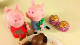 Шоколадные яица-сюрприз: Свинка Пеппа, Маша и Кей-Кей