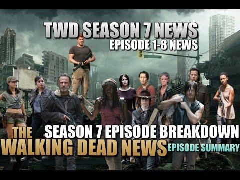 The Walking Dead Season 7 Spoilers Potential Episode Breakdown TWD Season 7 Potential Spoilers