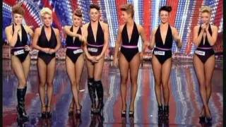 BRITAIN'S GOT TALENT 2011 - GIRLS ROC (AN ATTRACTIVE DANCE ACT WITH A DIFFERENCE!)