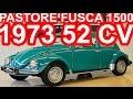 PASTORE Volkswagen Fusca 1500 1973 Verde MT4 RWD 52 cv 10,3 mkgf 126 kmh 0-100 kmh 26,1 s #Fusca