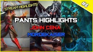 ✔ Pants Highlights - JOHN CENA Mordekaiser  | League of Legends