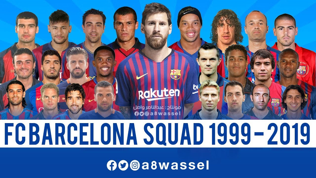barcelona squad from 1999 to 2019 hd in english youtube barcelona squad from 1999 to 2019 hd in english