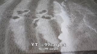 Oddly Satisfying ASMR Carpet Washing *Extremely Dirty* *Yellow Water*