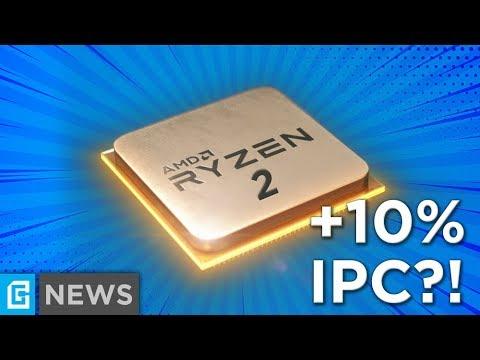 Ryzen 2000 Series 10% IPC Increase In Games + AMD Responds To Nvidia's GPP!