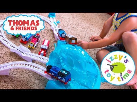 Thomas and Friends | Thomas Train Icy Mountain Drift Trackmaster | Fun Toy Trains for Kids