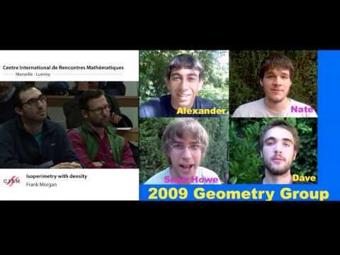 Frank Morgan: Isoperimetry with density