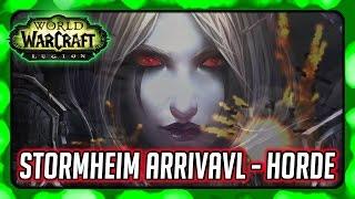 WOW Legion Story ► Sylvanas' True Desires - Stormheim Horde Arrival