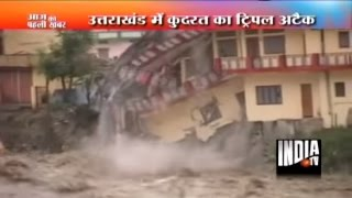 Rains, Flood, and Landslide in Uttarkashi, Kedarnath | Uttarakhand Flood Video