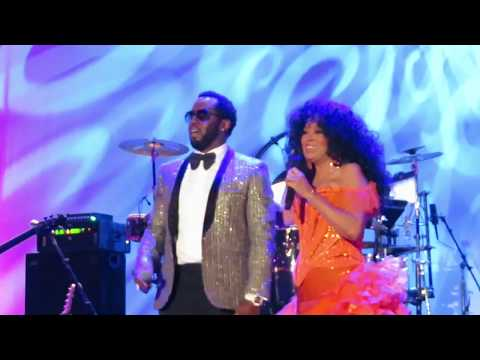 """Diana Ross - I'm Coming Out & Mo Money Mo Problems (w/Sean """"Puffy"""" Combs) 75th Birthday Celebration"""