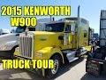2015 Kenworth W900 Truck tour.