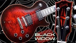 The Most Deadly Guitar | 2009 Gibson Les Paul Black Widow Burst Red | Review + Demo