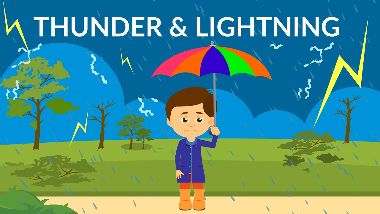 What causes thunder and lightning? | Thunderstorm | Learn Earth Science Video for Kids