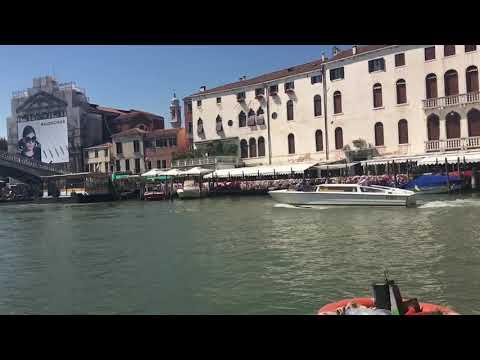 Venice Grand Canal ITALY!! Amazing slo mo