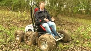 Offroad-Rollstuhl