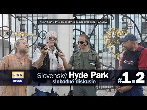 Slovenský Hyde Park #1.2 / Slobodná diskusia u fašistu Andreja Kisku