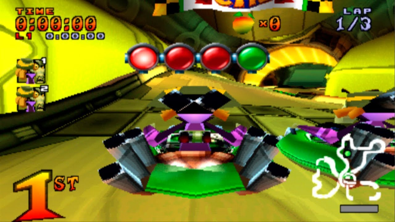 Jefe vs Jefe Crash Team Racing