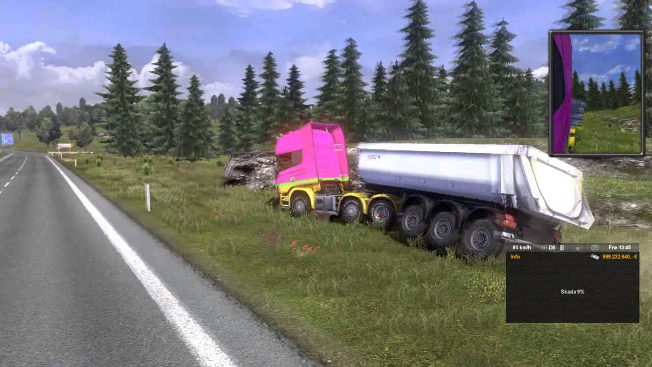 truck crash simulator