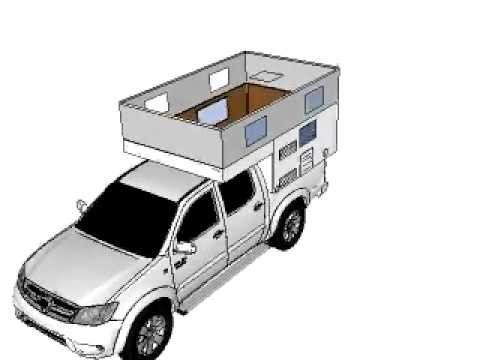 Toyota Of Plano >> Truck Camper Europe Toyota Hilux + Celula Completa - YouTube