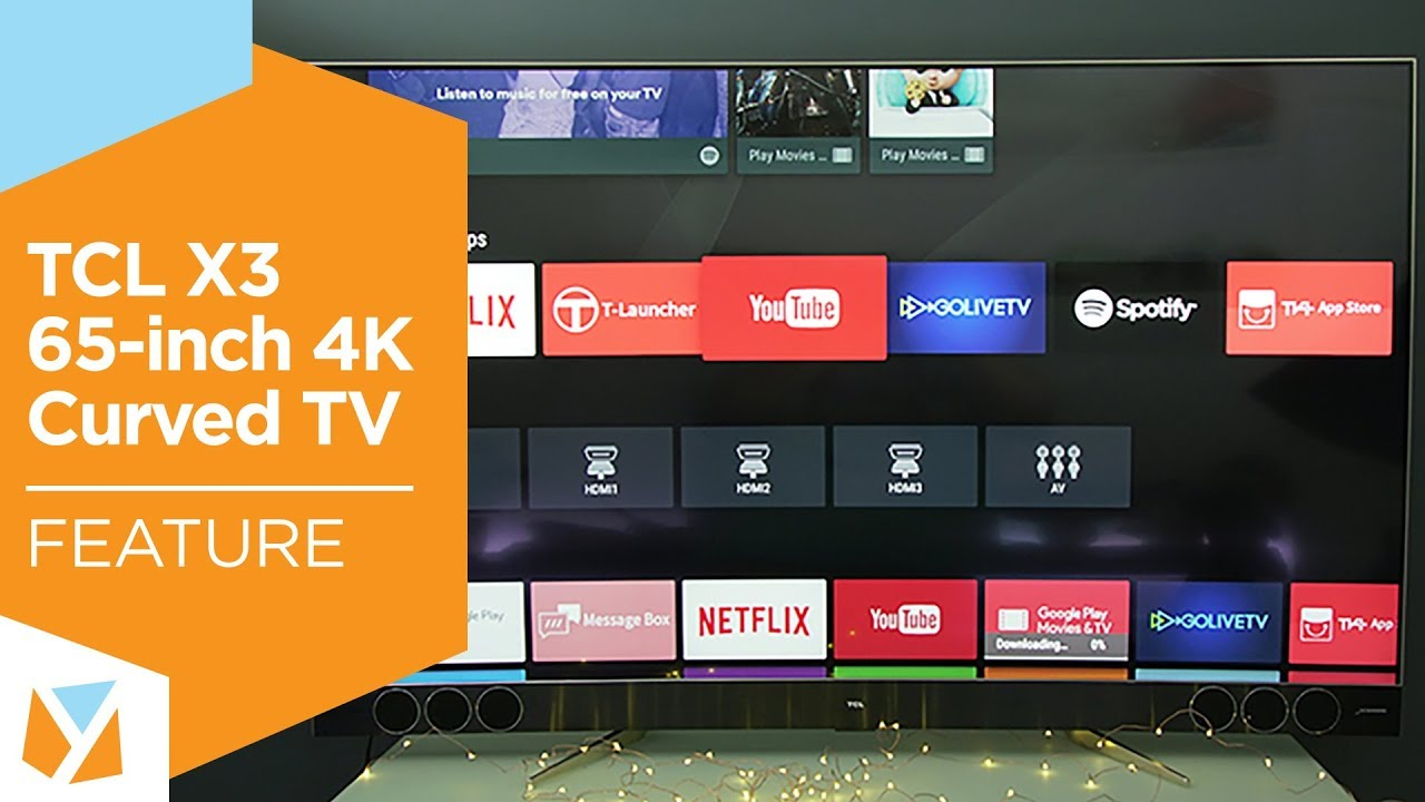 tcl x3 65inch 4k curved tv 6 winning features - 65 Inch Curved Tv