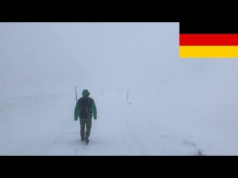 Germany Black Forest - winter hike: Zell - Steinen 16km