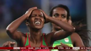 Rio 2016 Olympic Games Faith Chepngetich Kipyegon Kenya wins Gold 1500m