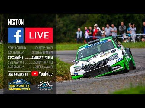 Barum Czech Rally Zlin 2019 - LIVE SS7
