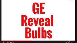 ge reveal bulbs