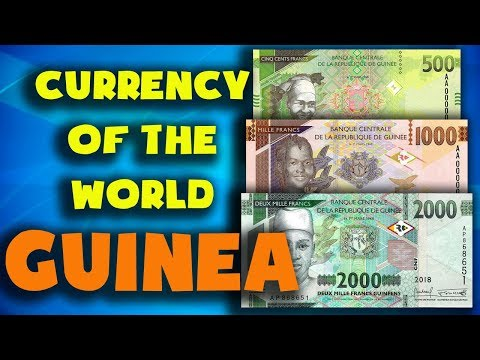 Currency Of The World - Guinea. Guinean Franc. Exchange Rates Guinea.Guinean Banknotes And Coins