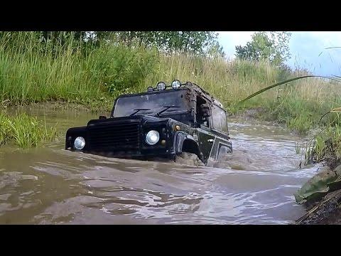 На Defender в гряземес ... Радиоуправляемая машина