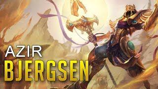 Bjergsen as Azir  - Bjergsen Solo Queue Highlights