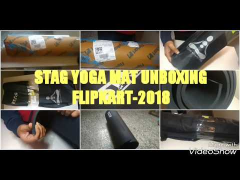 STAG YOGA MANTRA EXERCISE MAT(8mm) UNBOXING {Flipkart-2018}