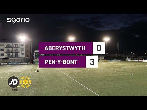 Aberystwyth Penybont Goals And Highlights