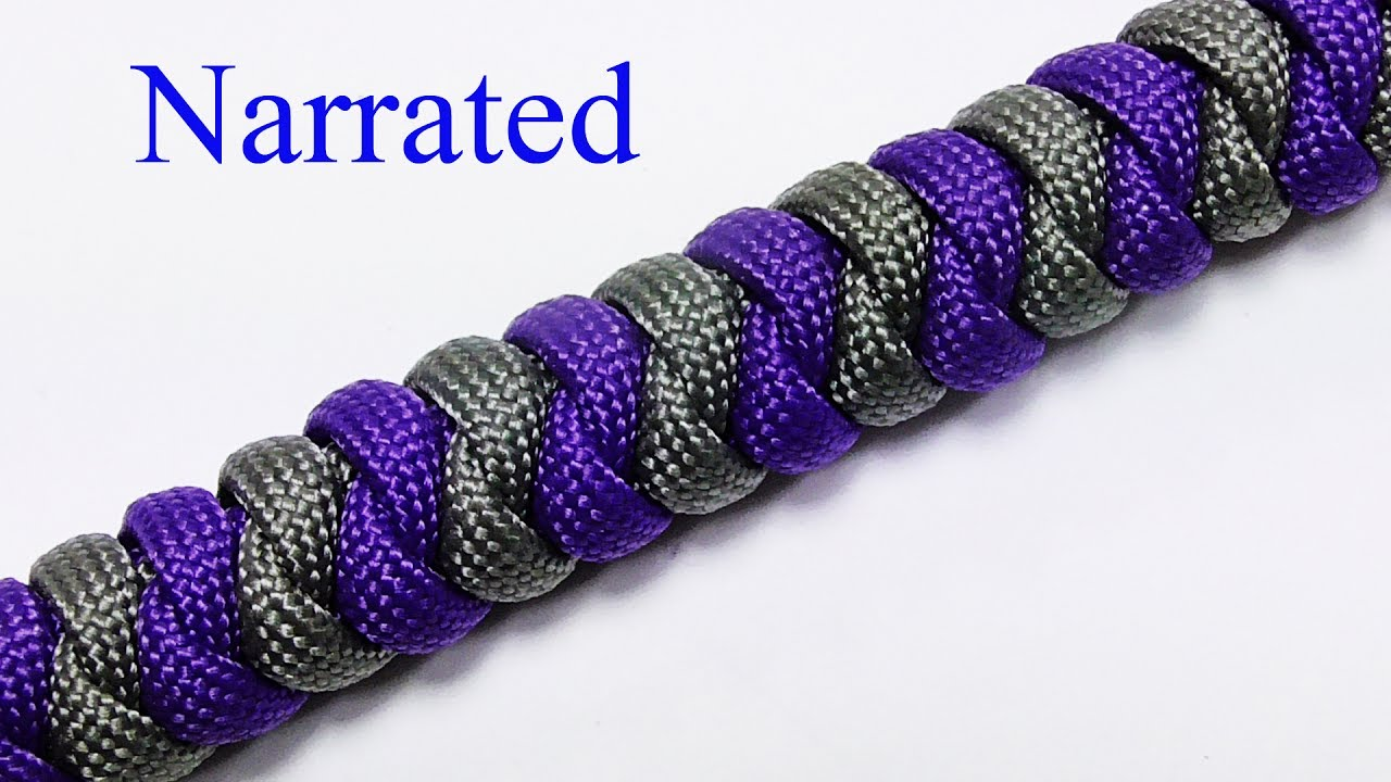 2 Color Snake Knot Bracelet Youtube