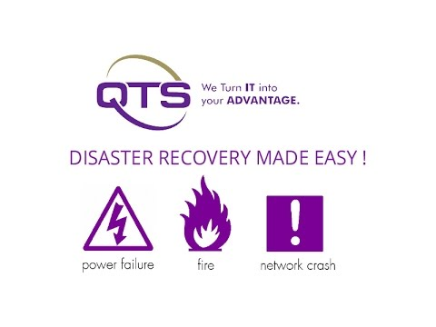 QTS Webinar - Disaster Recovery Made Easy!