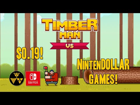 Timberman VS | NintenDOLLAR Games! |