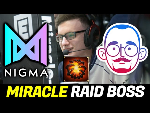 NIGMA vs 5MEN — Raid Boss MIRACLE & Unexpected Mistake