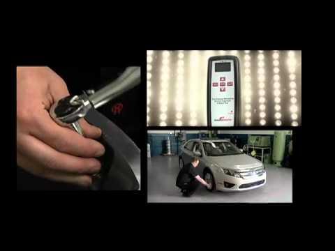 Tire Pressure EZ-sensor on a Ford Fusion