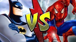 Spider-Man VS Batman: Battle of The Animated Series | NerdFight!