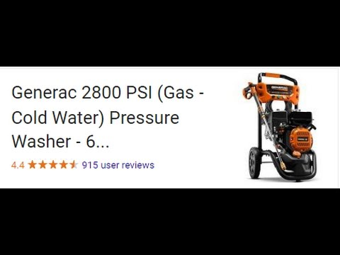 GENERAC PRESSURE WASHER UNBOXING AND REVIEW