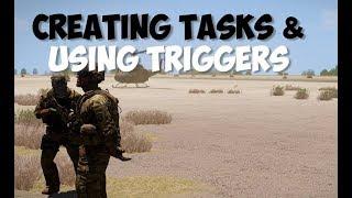 Arma 3 Editing | Basic Mission Tasks & Triggers