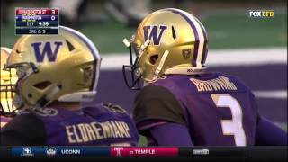 The next Russell Wilson - UW QB Jake Browning 2015