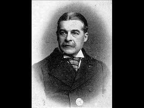 Edison phonograph cylinder 1888: Sir Arthur Sullivan 18421900  The Lost Chord & Speech