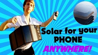 Is this FOLDABLE SOLAR CHARGER worth it!? BIGBLUE 28W